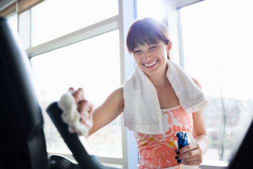 Fitness & gym equipment wipes